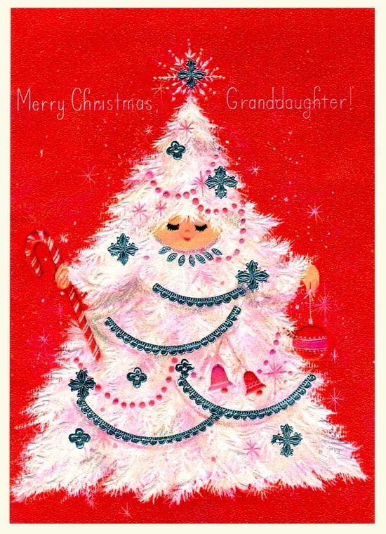 Christmas Tree Girl