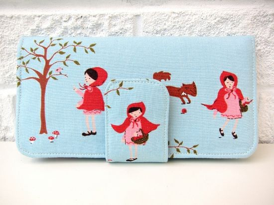 Walk in the Woods wallet by Very Berry Handmade