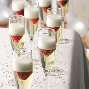 Champagne Recipes from Taste of Home, including Jellied Champagne Dessert Recipe