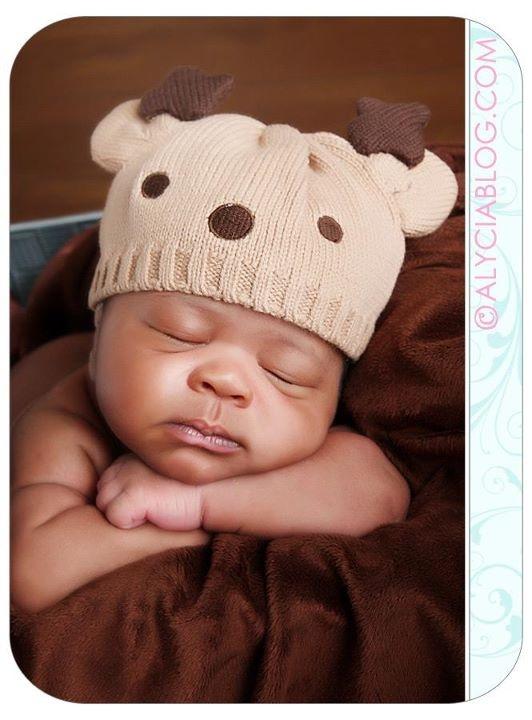 Gotta love baby reindeers! :)
