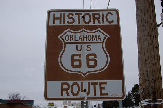 US 66, #Oklahoma , Sapulpa #USA #travel