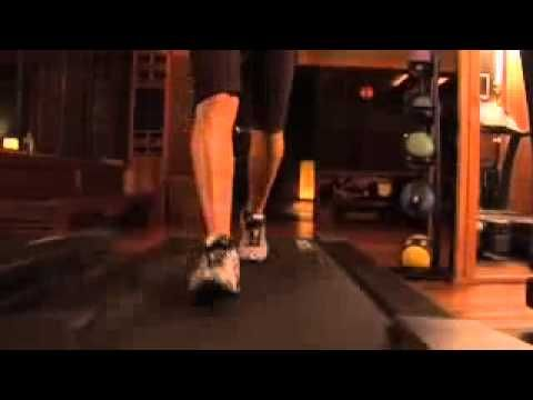 tracy anderson - treadmill....can I do this at the gym without tripping? We shall see