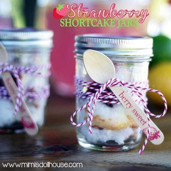 Strawberry Shortcake in a Jar mimisdollhouse.co...