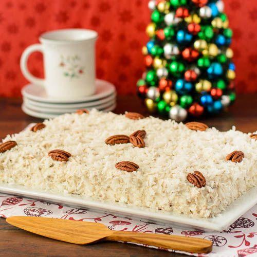 Coconut Spice Cake Recipe