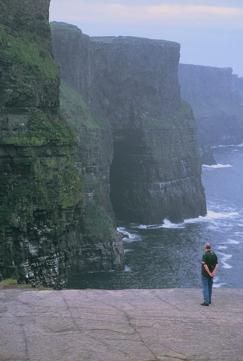 Cliffs of Moher in County Clare, Western Ireland