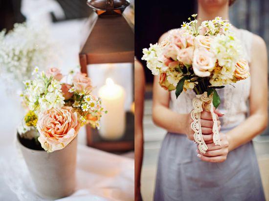 #flowers #bouquet #peach #weddings
