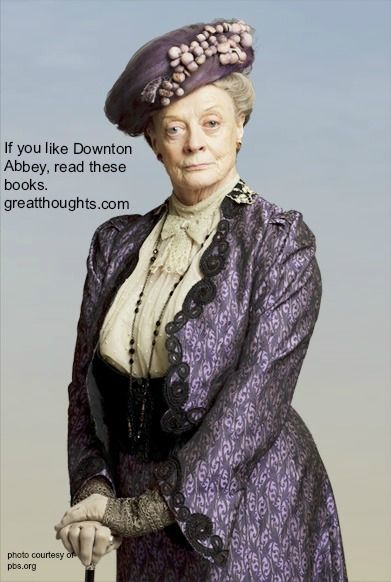 Downton Abbey-like books list