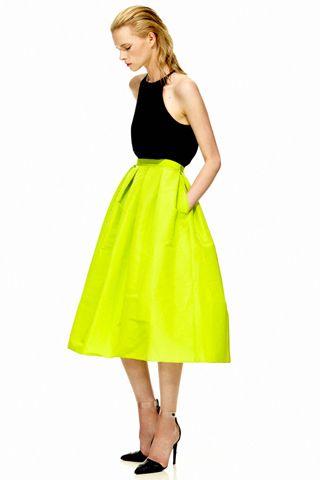tibi spring 2012 (that skirt!)