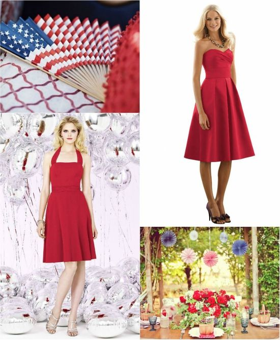 Celebrate the 4th: Browse Our Red, White, and Blue Dresses! - Weddington Way Style Blog