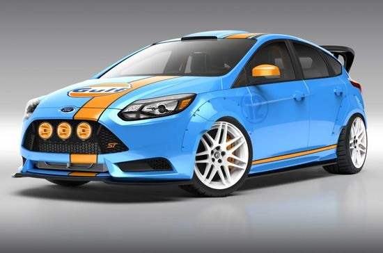 Ford Focus ST Show Cars Revealed Ahead of 2013 SEMA Show - Motor Trend WOT