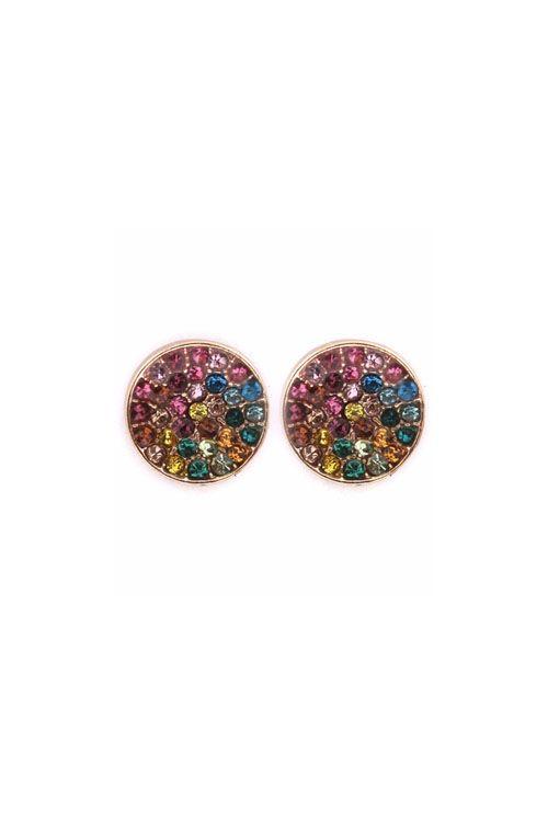 Crystal Dotti Earrings in Watercolor