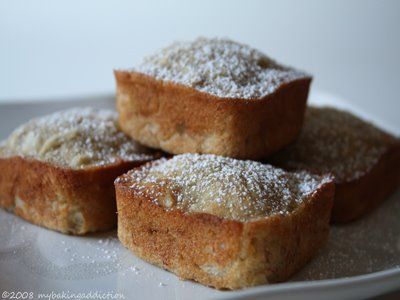 cute little banana breads