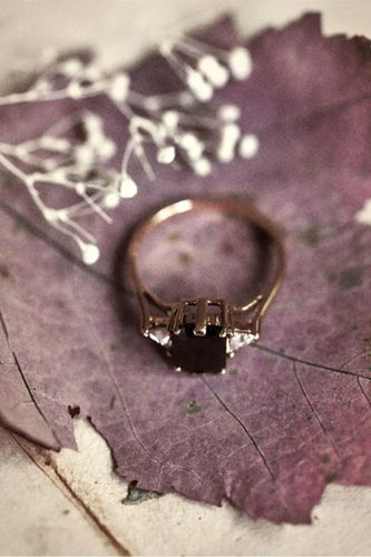 Black diamond #engagement #ring