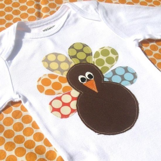 This is such a cute turkey shirt