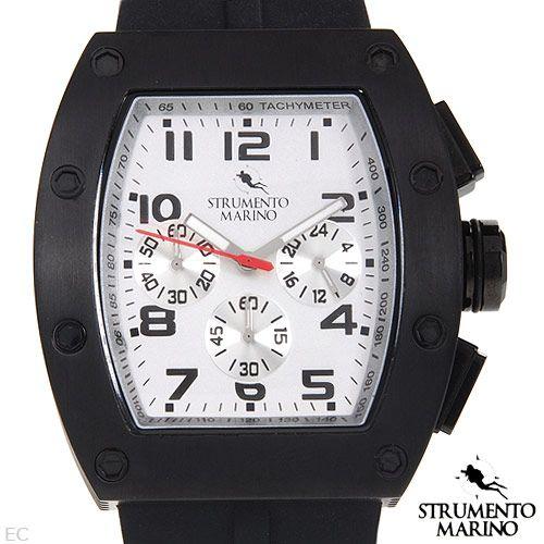 STRUMENTO MARINO SM056RSS/BK Chronograph Men's Watch