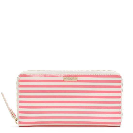 Kate Spade- stripe wallet