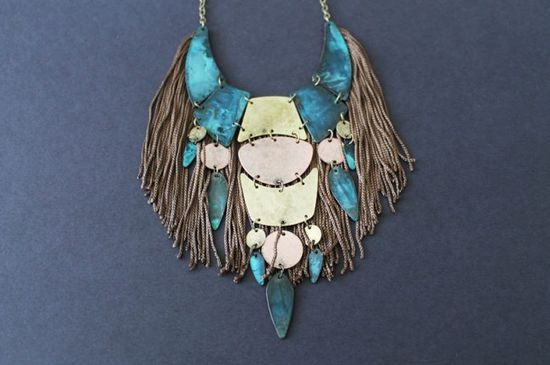 A Fringe Statement Necklaces You Can Make in Under 5 Minutes