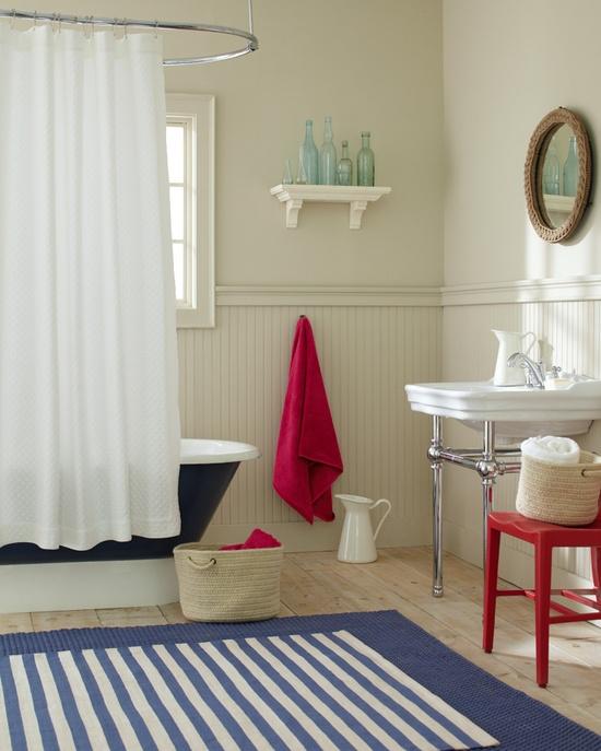 Nantucket Bathroom #nautical