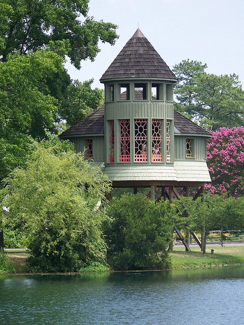Tree house for the kids - I think not!