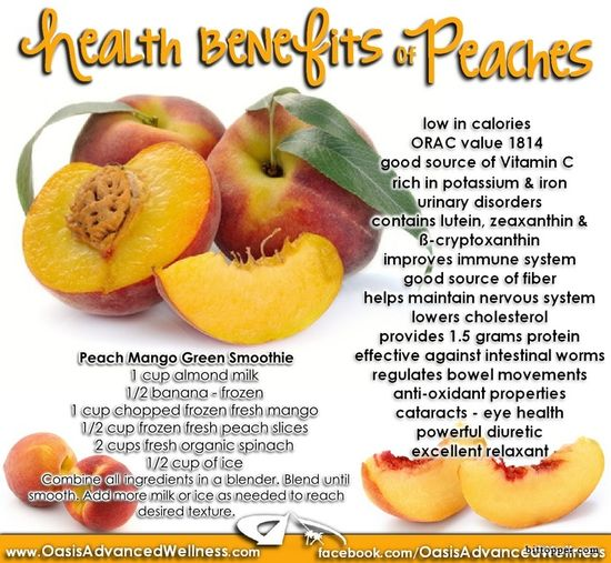 Health Benefits of Peaches via www.bittopper.com...