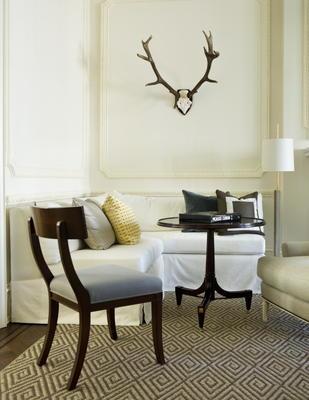 Living room designed by Robert Brown Interior Design