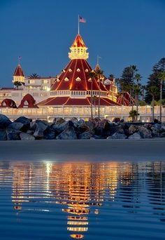 Hotel del Coronado, San Diego  - California