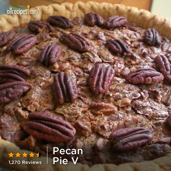 High rated PECAN PIE w/o that corn syrup. Easy and tasty...can't WAIT to try!