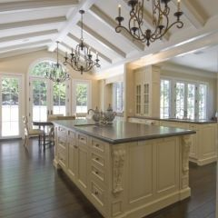 island color, wood floors in #floor interior design #floor decorating #floor decorating before and after