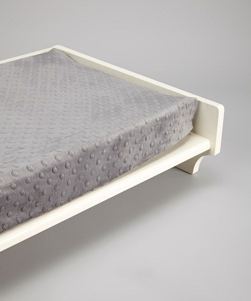 Take a look at this Lolly Gags Charcoal Minky Changing Pad Cover on zulily today!