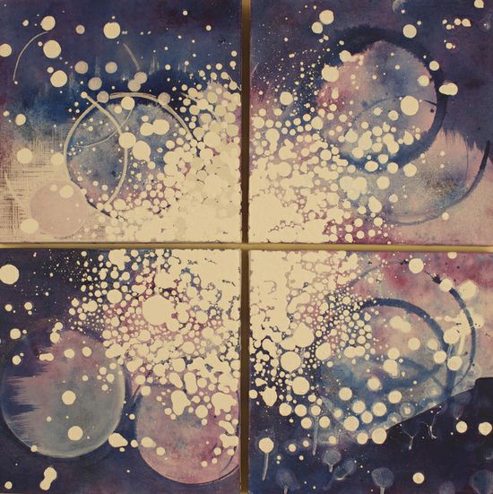 "Saatchi Online Artist: Linda Colletta; Acrylic, 2013, Painting ""Spire"""