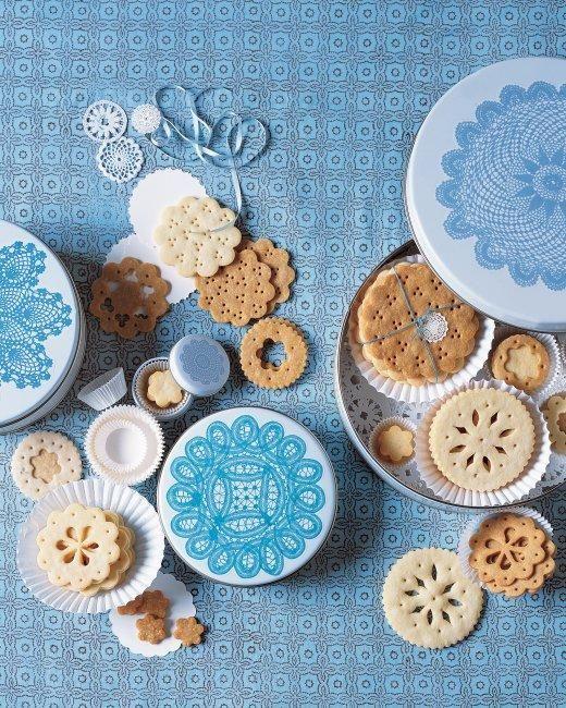 Crisp Sugar Doily Cookies Recipe