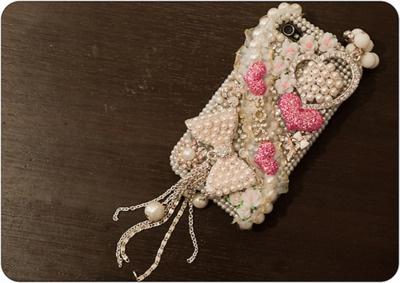 pearl phone bling