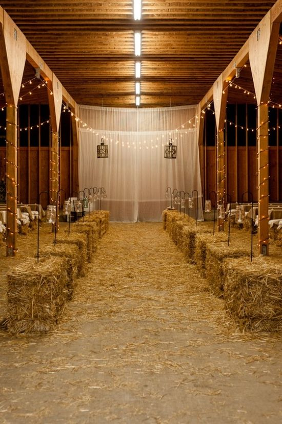 Beautiful barn wedding OMG I could die for this!!! Perfect!