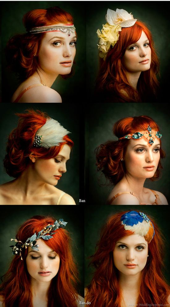 I need every single one of these hair pieces....fun hair accessories #picture #perfect #hair