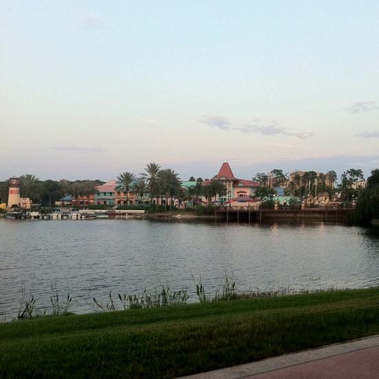 Disney World's Caribbean Beach Resort.