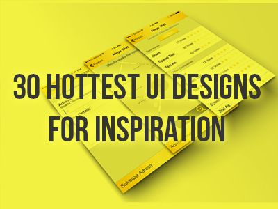 Hottest UI designs