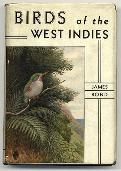 ? Birds of the West Indies by James Bond 1936