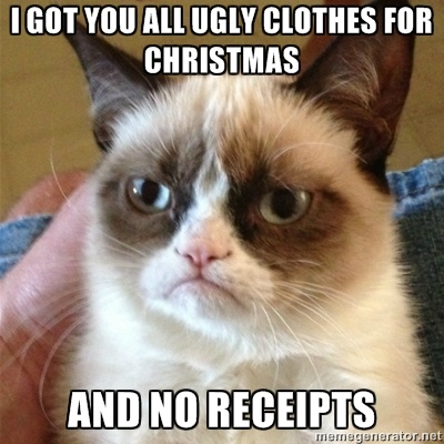 Haha! Thanks Grumpy Cat!!!