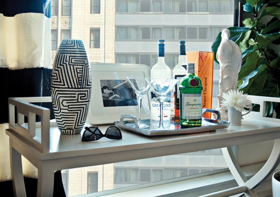 office of Canadian interior designer Meredith Heron