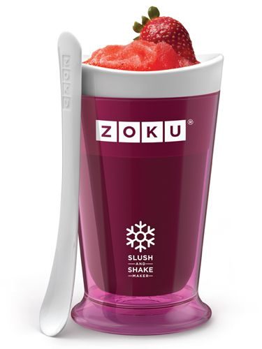 Make delicious fruit-infused slushies in five minutes with the Zoku Slush and Shake Maker ($19.99). Freeze the inner core, pour in your choice of juice and stir.