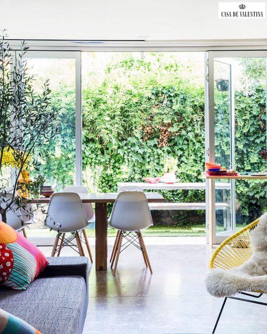 Via Casa de Valentina www.casadevalenti... #details #interior #design #decoracao #detalhes #nature #plantas #casadevalentina