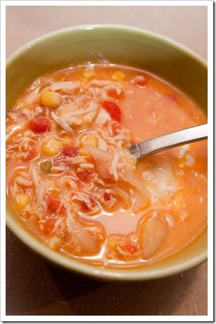 HEARTY CHICKEN TEQUILA SOUP