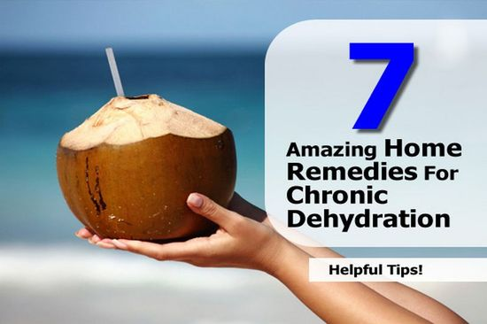 Interesting Post from our sister site Health Tips Watch: 7 Amazing Home Remedies For Chronic Dehydration - www.healthtipswat...