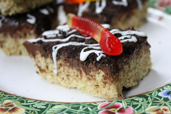 Chocolate Rice Krispie Treats