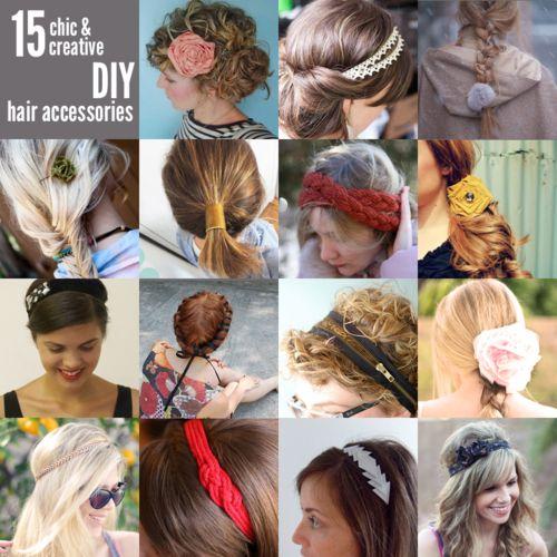 DIY: chic & creative hair accessories ?
