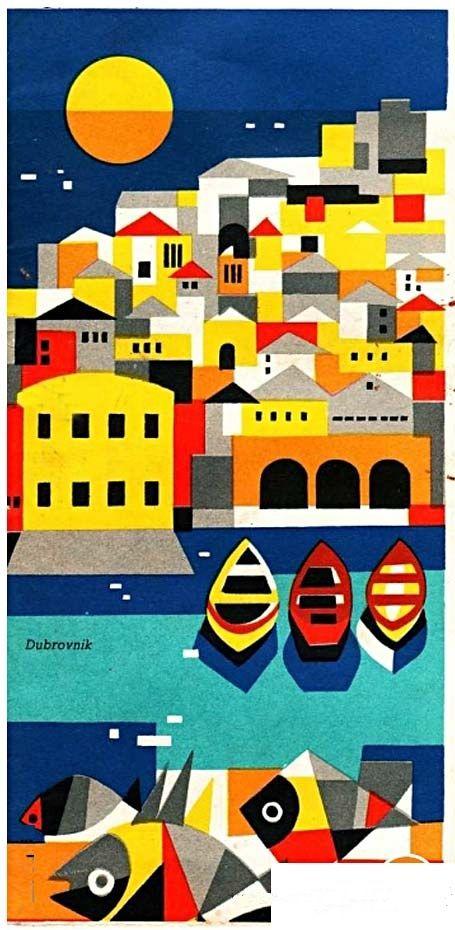 Dubrovnik #travel #brochure (1961)