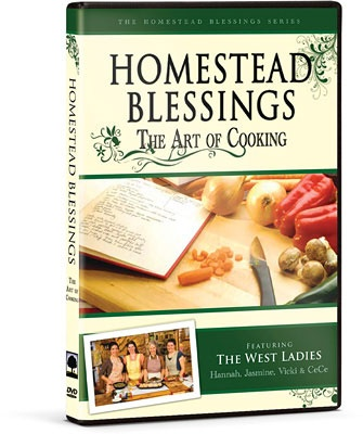 The Art of Cooking {Homestead Blessings}