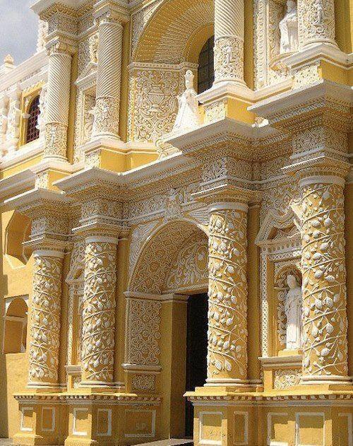 Templo de Nuestra Señora de las Mercedes, Antigua Guatemala