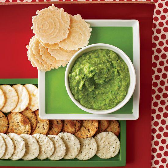 Ginger-Miso Sweet Pea Spread // More Delicious Dips: www.foodandwine.c... #foodandwine