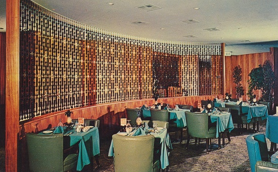 The Top of the Tower Restaurant - San Diego, California, via Flickr.